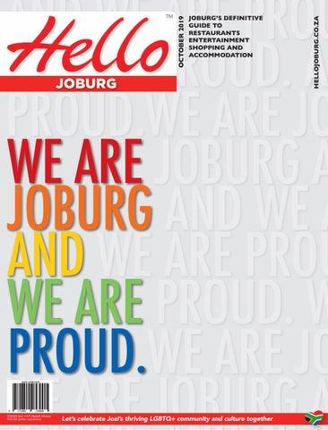 Hello Joburg October 2019 By Spinnercom Media Issuu