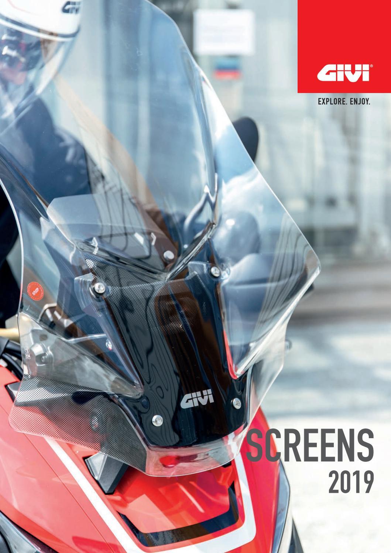 Windshield smoked for KTM 990 SMT 09//15 GIVI Motorbike