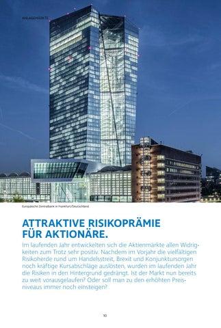 Page 10 of Attraktive Risikoprämie  für Aktionäre