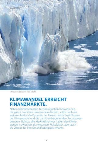 Page 18 of Klimawandel erreicht  Finanzmärkte