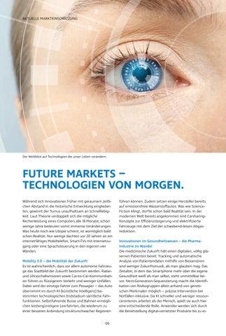 Page 6 of Future Markets – Technologien von morgen