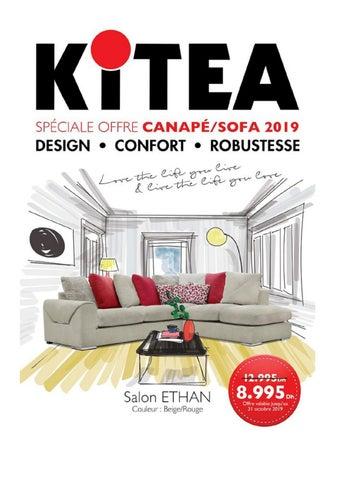 Catalogue Kitea spéciale offre Sofa/Canapé 2019