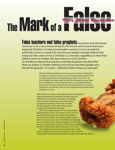 Page 10 of The Mark of a False Prophet: They Draw Away Disciples After Themselves