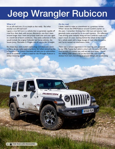 Page 16 of Jeep Wrangler Rubicon