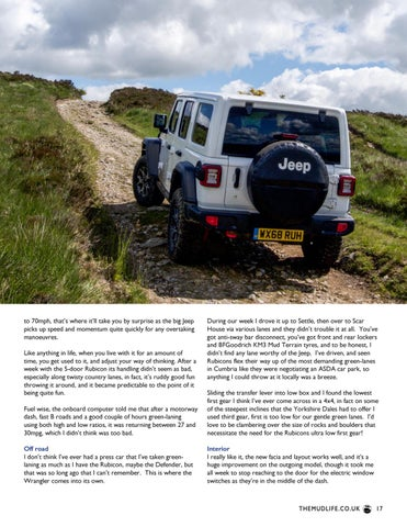 Page 17 of Jeep Wrangler Rubicon