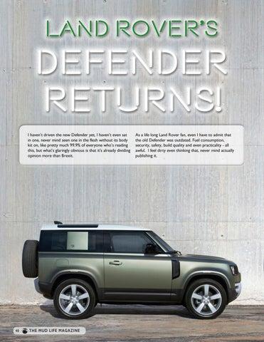 Page 40 of Land Rover Defender Returns