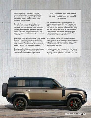 Page 41 of Land Rover Defender Returns
