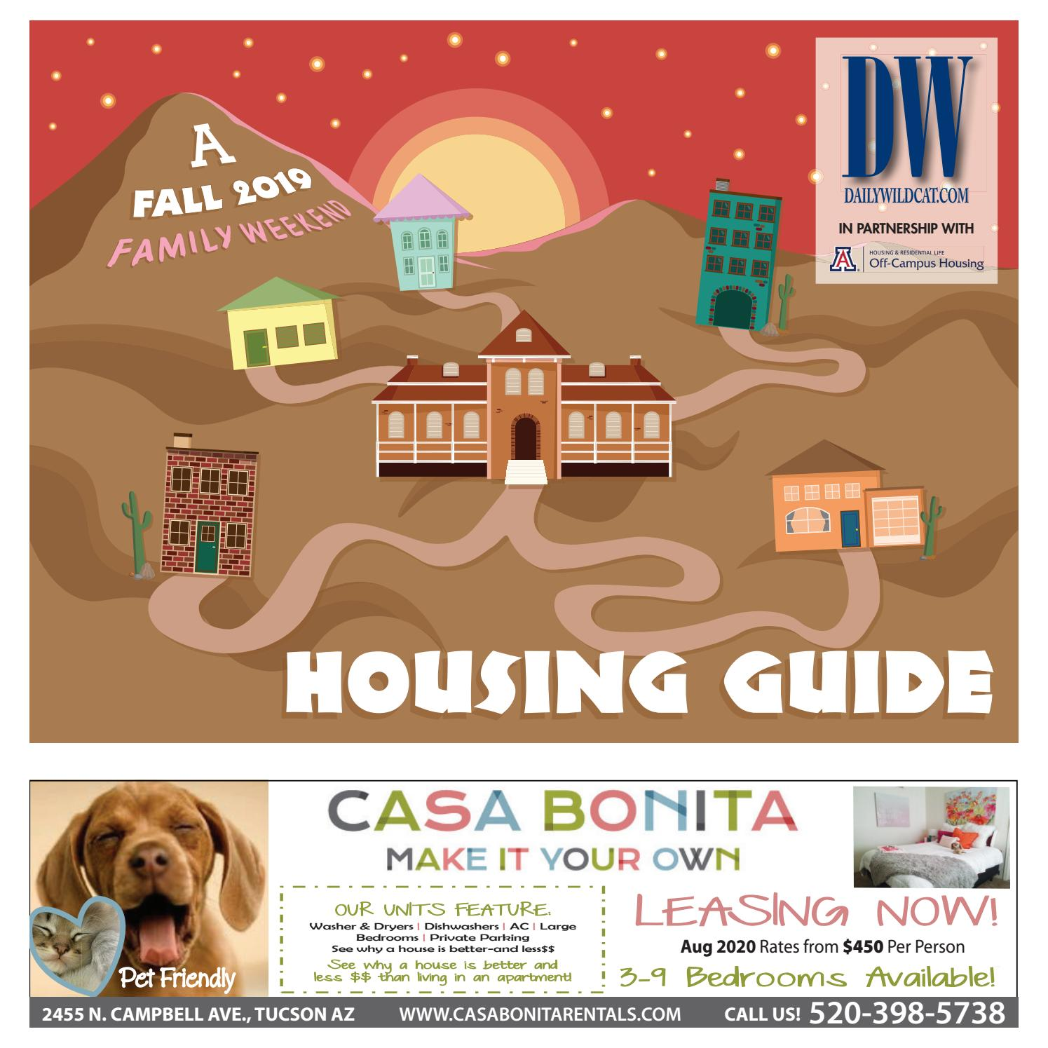 Daily Wildcat Fall 2019 Family Weekend Housing Guide By