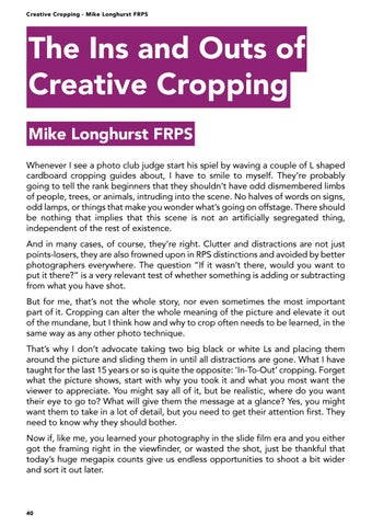 Page 40 of The Ins and Outs of Creative Cropping