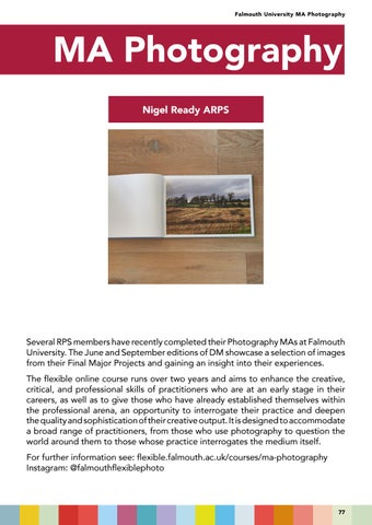 Page 77 of Falmouth University MA Photography Projects
