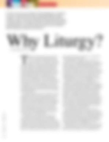 Page 28 of Why Liturgy?