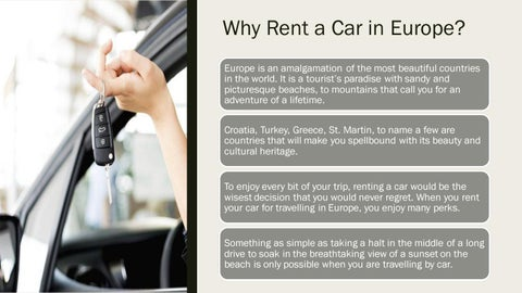 Page 2 of Why rent a car in Europe