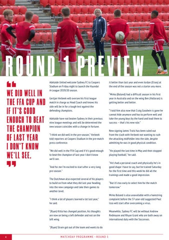 Page 2 of Hyundai A-League Round 1 Match Preview