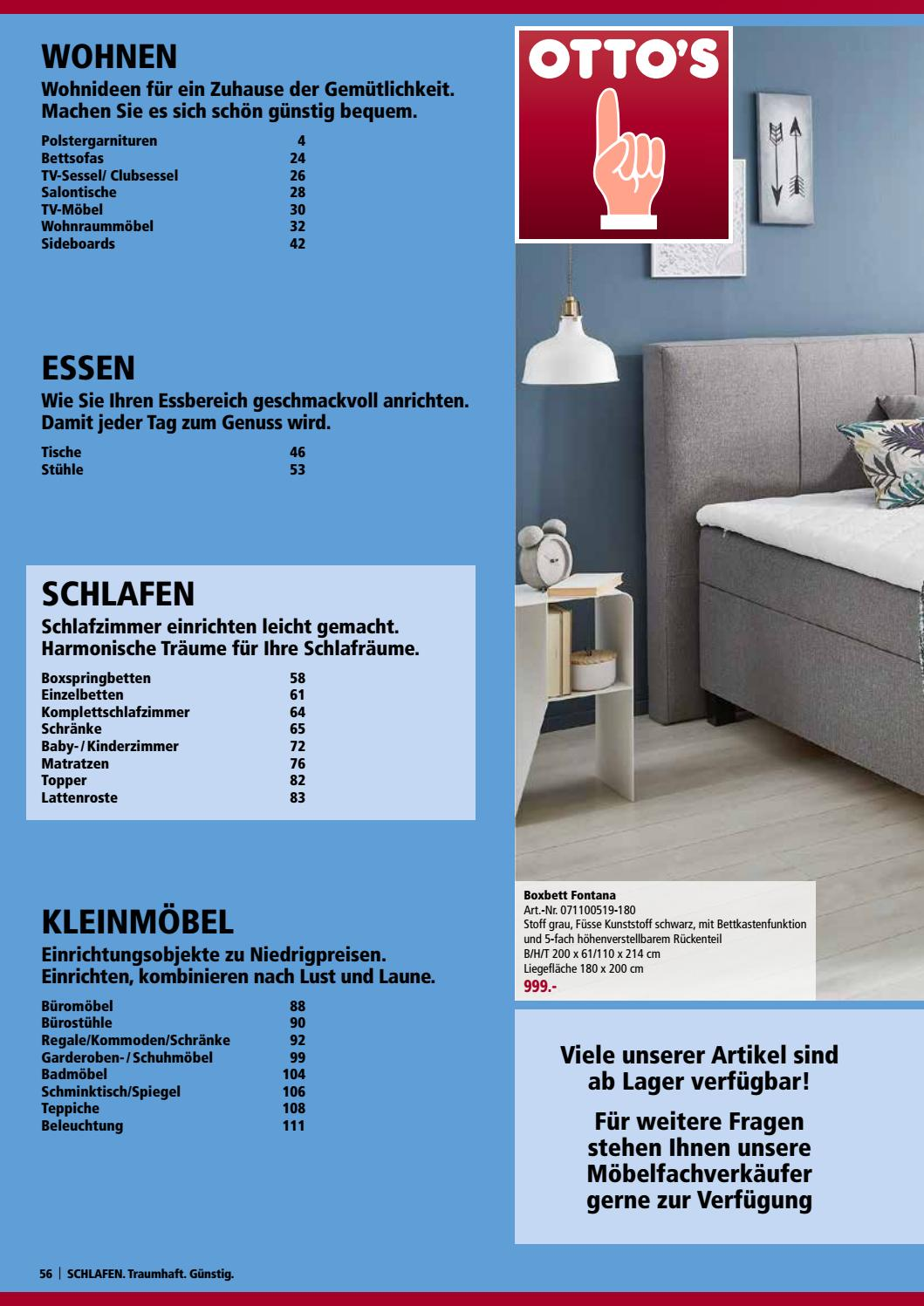 Mobelkatalog Schlafen De By Otto S Ag Issuu