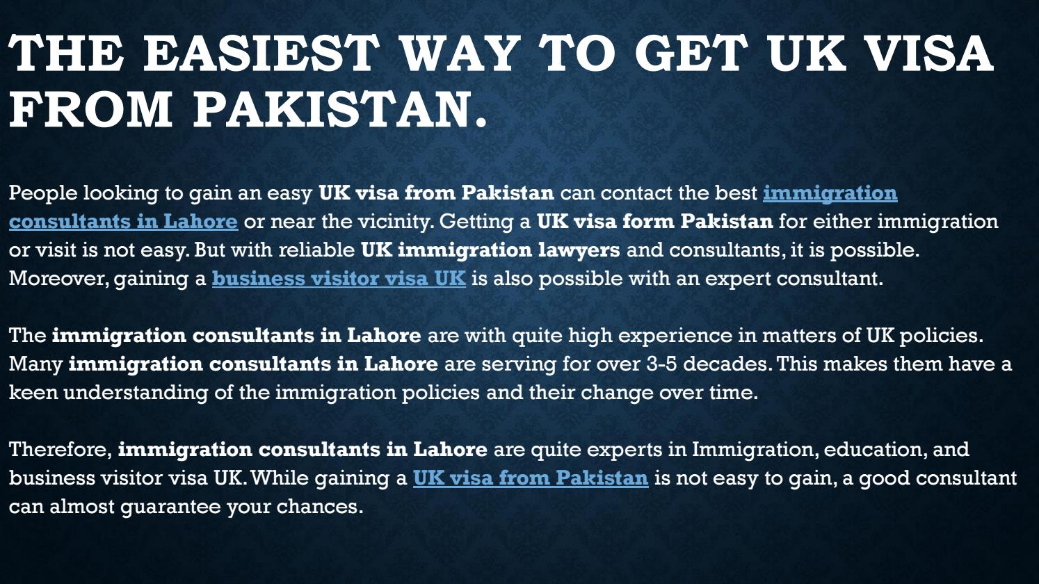 Best Immigration Lawyers In Lahore Pakistan By Jack Richard Issuu
