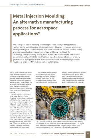Page 69 of Metal Injection Moulding: An alternative manufacturing process for aerospace applications?
