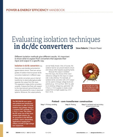 Page 26 of Evaluating isolation techniques in dc/dc converters