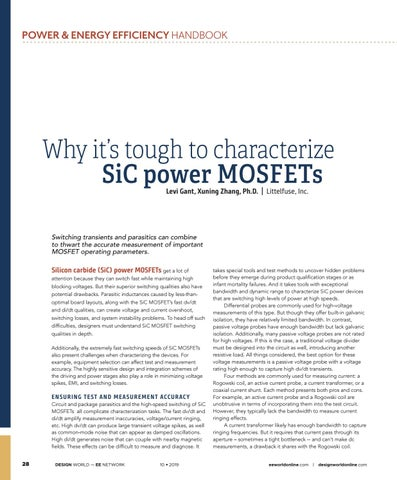 Page 30 of Why it's tough to characterize SiC power MOSFETs