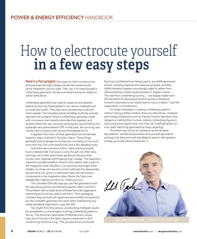 Page 4 of How to electrocute yourself in a few easy steps