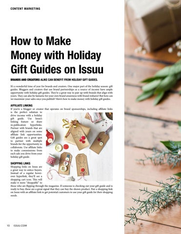 Page 10 of How to Make Money with Holiday Gift Guides on Issuu