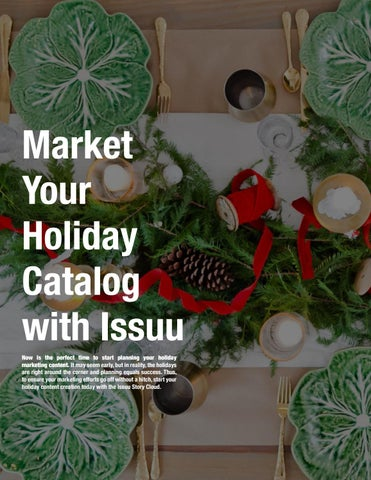 Page 16 of Market Your Holiday Catalog with Issuu