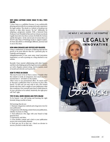 Page 21 of Legally Innovative