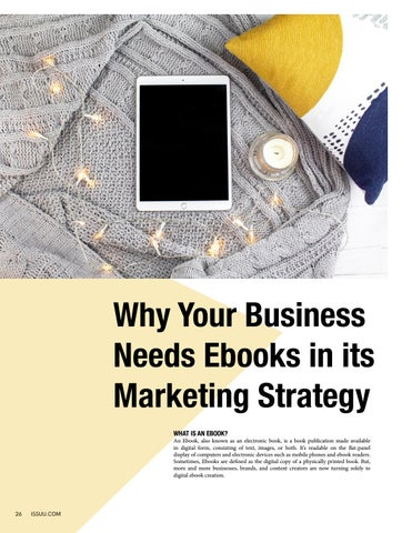 Page 26 of Why Your Business Needs Ebooks in its Marketing Strategy