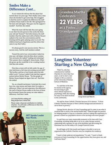Page 2 of Longtime Volunteer Starting a New Chapter