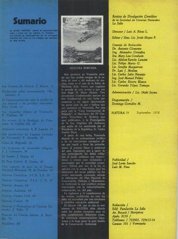 Page 2 of Los pequeños felinos de Venezuela - Pedro Trebbau (1976)