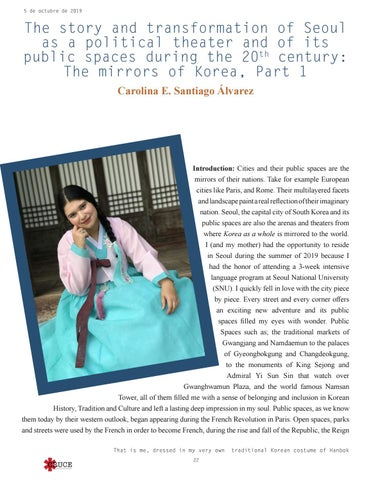 Page 22 of THE STORY AND TRANSFORMATION OF SEOUL AS A POLITICAL THEATER AND OF ITS PUBLIC SPACES DURING THE 20TH CENTURY: THE MIRRORS OF KOREA, PART 1