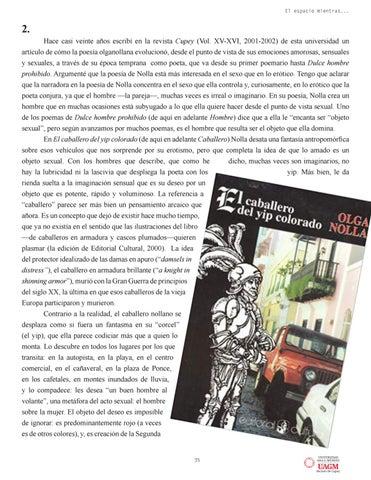 Page 35 of LAS TRANSFORMACIONES Y EL MITO EN LA POESÍA DE OLGA NOLLA