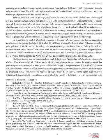 Page 7 of EUGENIO MARÍA DE HOSTOS Y LA LIGA DE PATRIOTAS PUERTORRIQUEÑOS, 1898-1900