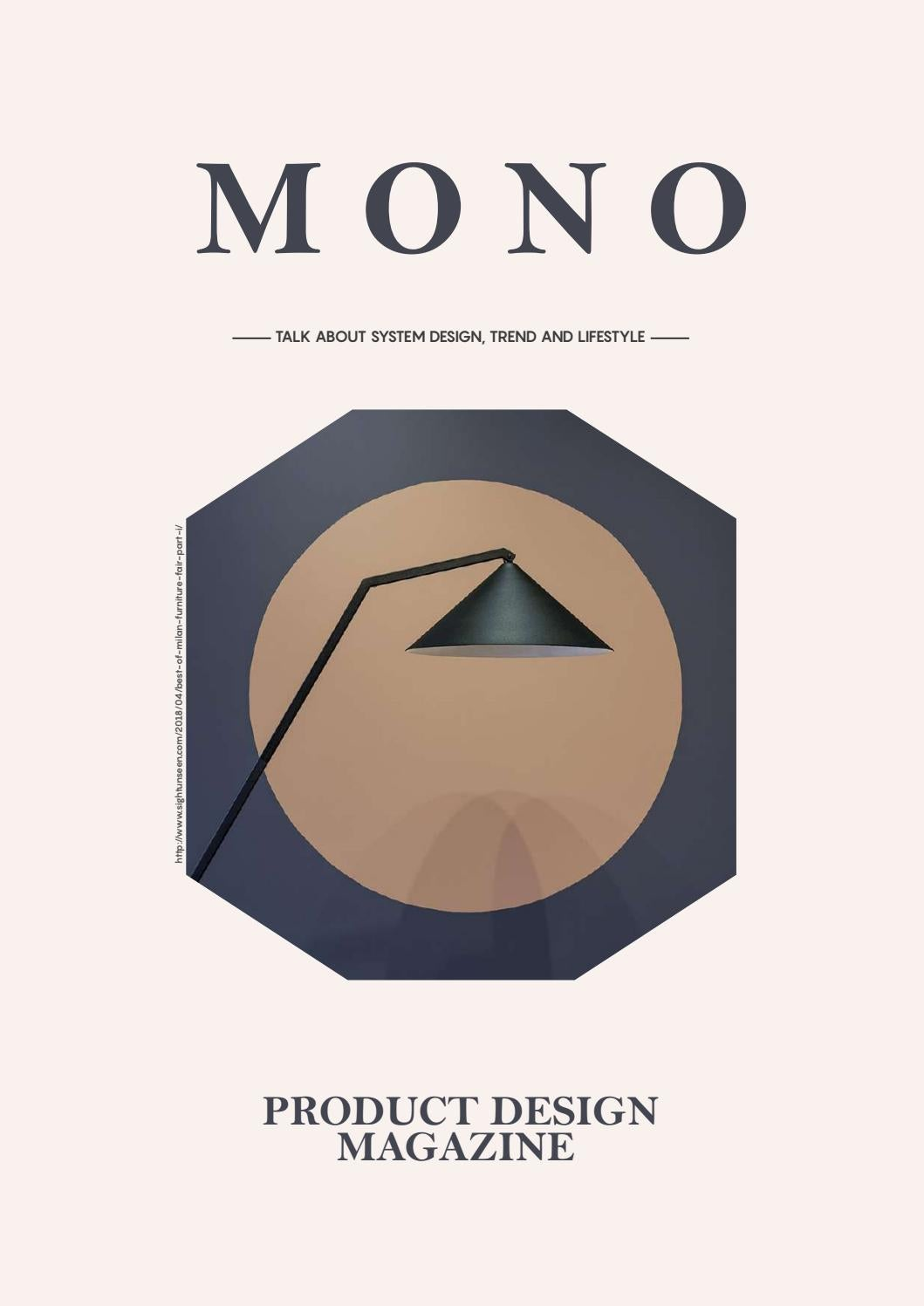 Mono Magazine The Design System May 2018 By Tias Sekar