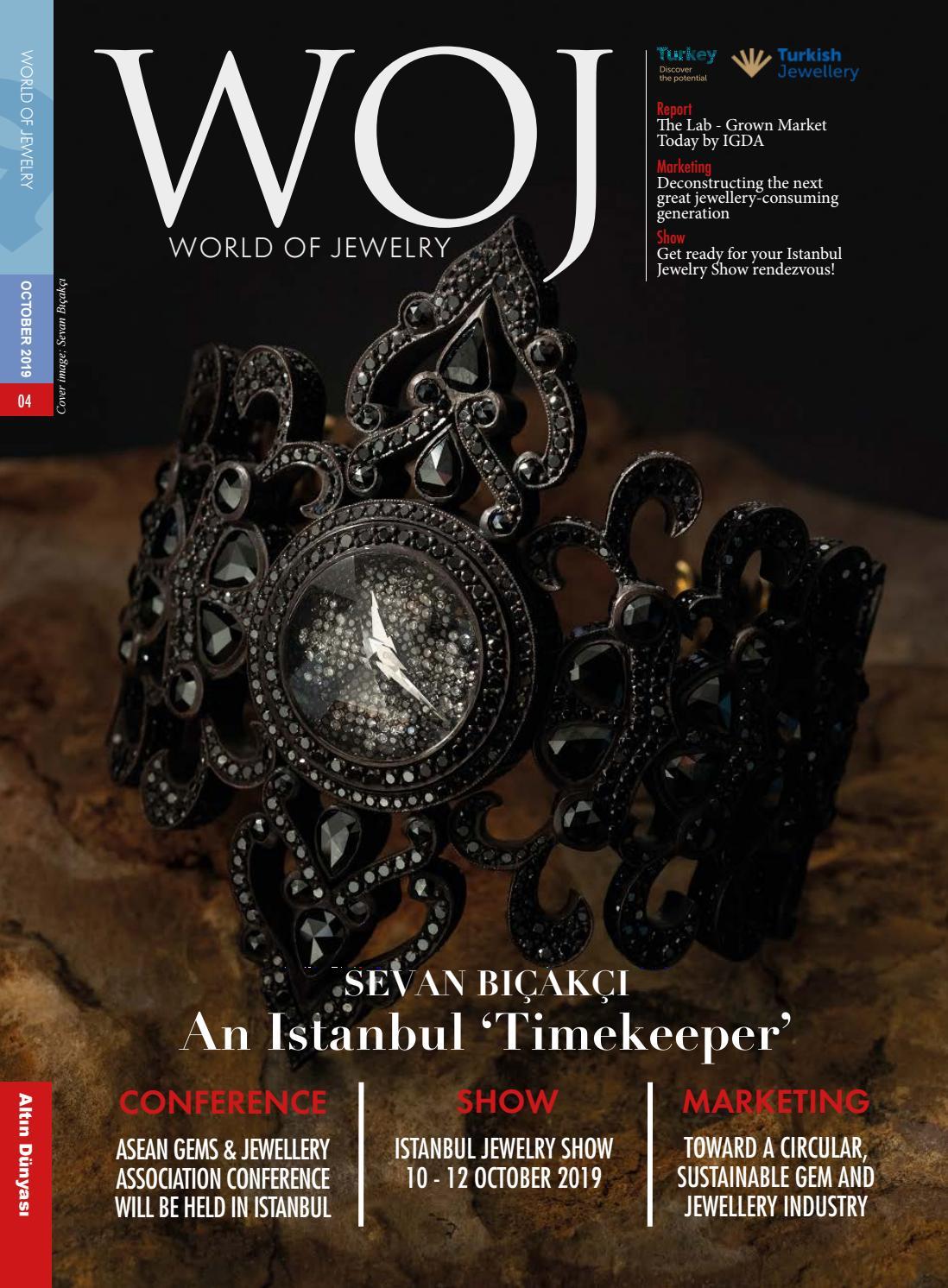 World Of Jewelry October 2019 By Altin Dunyasi Yayin Grubu Issuu