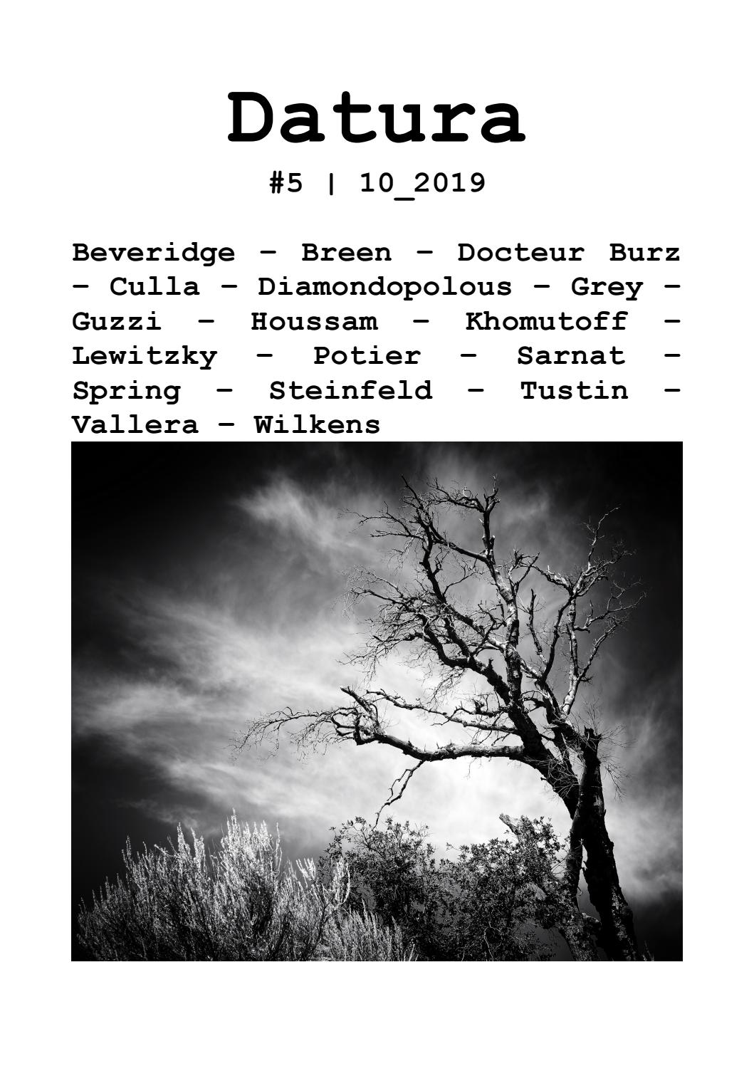 Datura Issue 5 October 2019 By Datura Issuu