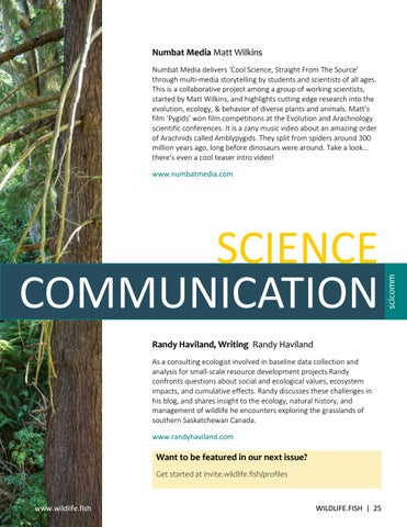 Page 25 of Science Communication: Featured Blogs