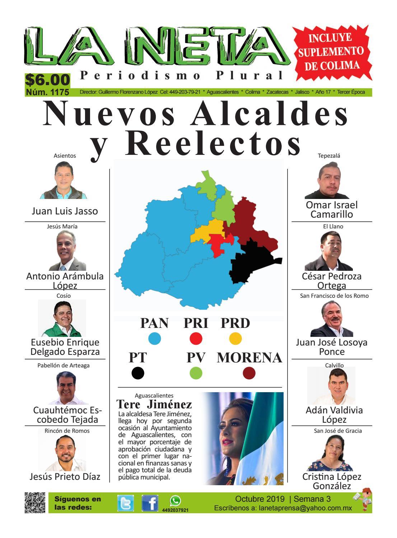 Periódico Semanal De Colima Y Aguascalientes Edición 1175