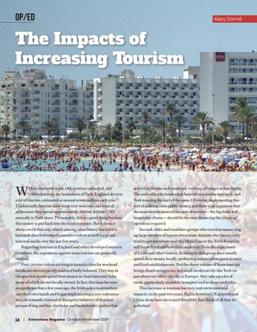 Page 18 of The Impacts of Increasing Tourism