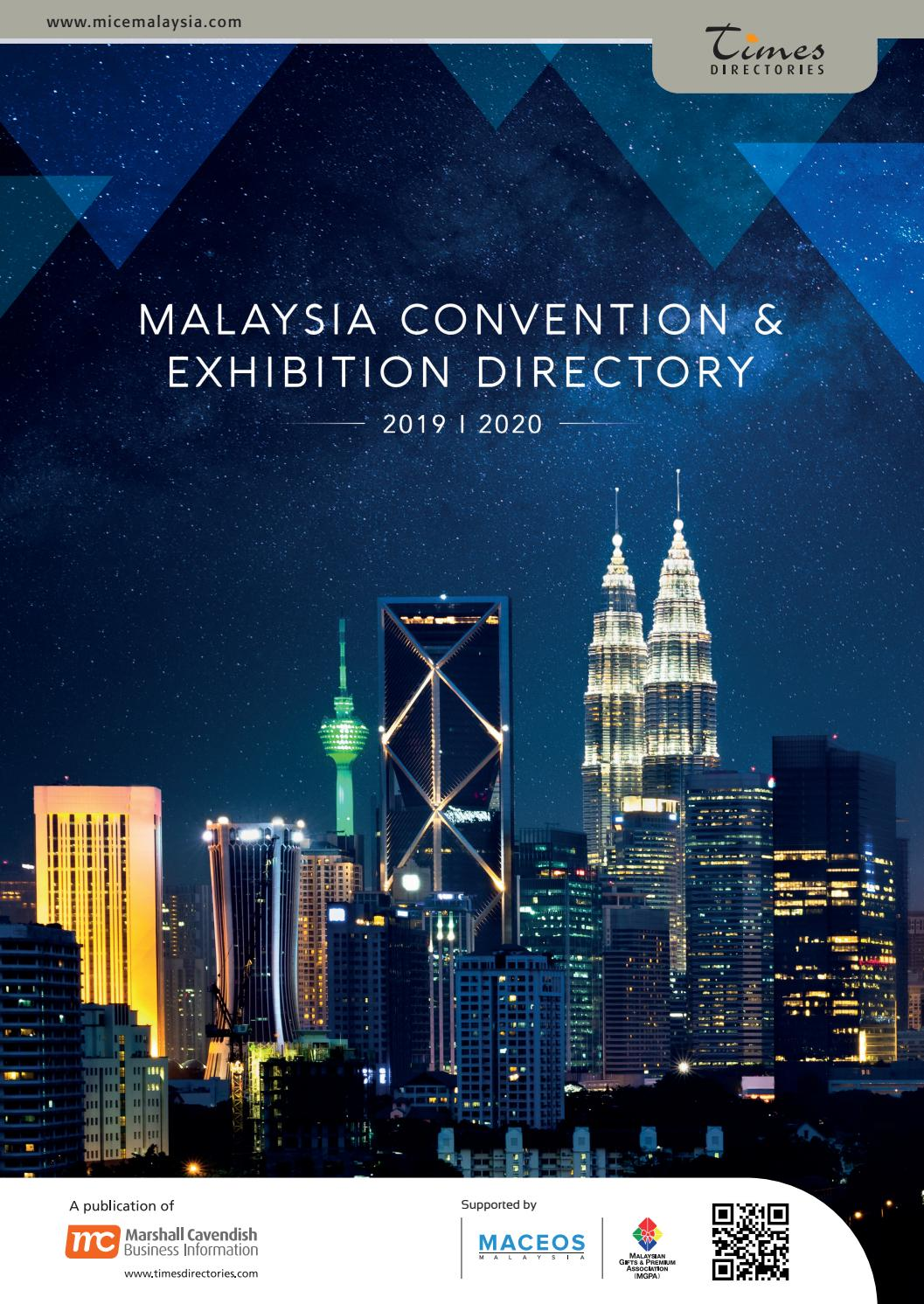 Malaysia Convention Exhibition Directory 2019 2020 By Marshall Cavendish M Sdn Bhd Issuu