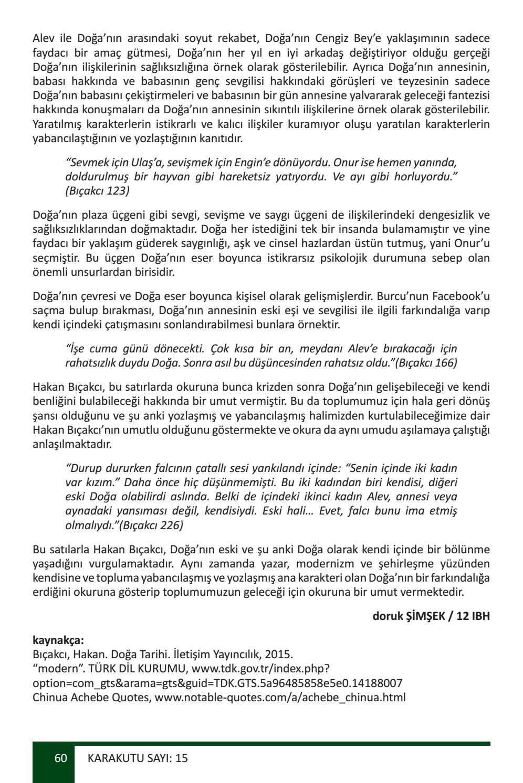 karakutu edebiyat dergisi sayi 15