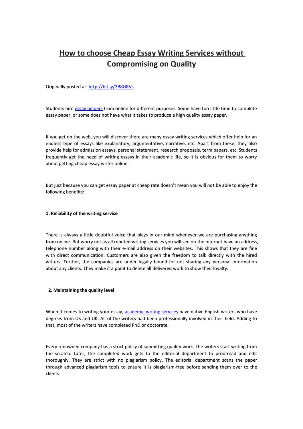 Cheap persuasive essay editing for hire us research paper method section