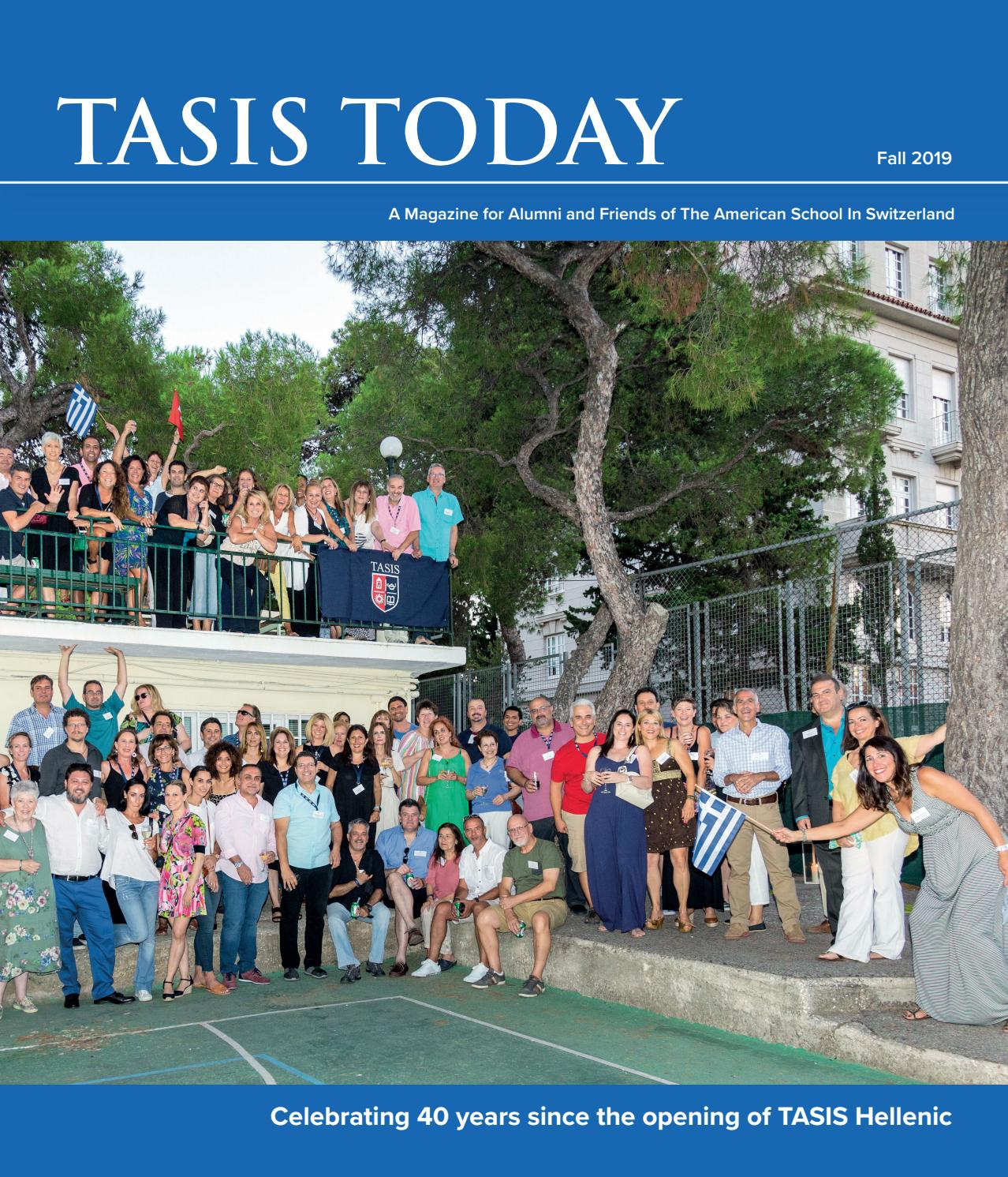 Tasis Today 2019 By The American School In Switzerland Issuu