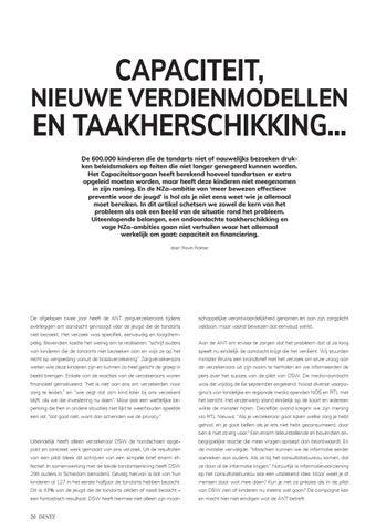 Page 20 of Capaciteit, nieuwe verdienmodellen en taakherschikking...