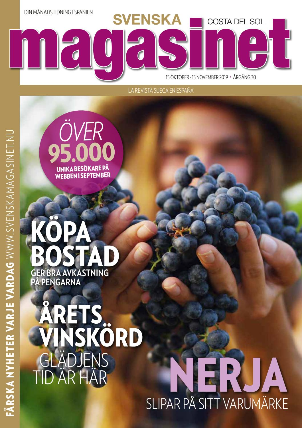 Okt 2019 By Svenska Magasinet Spanien Issuu