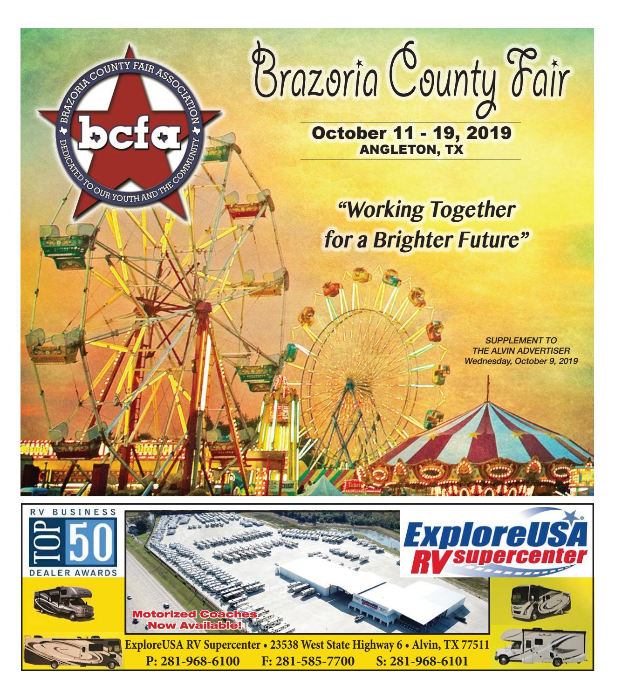 Brazoria County Fair By The Alvin Sun Amp Advertiser Issuu