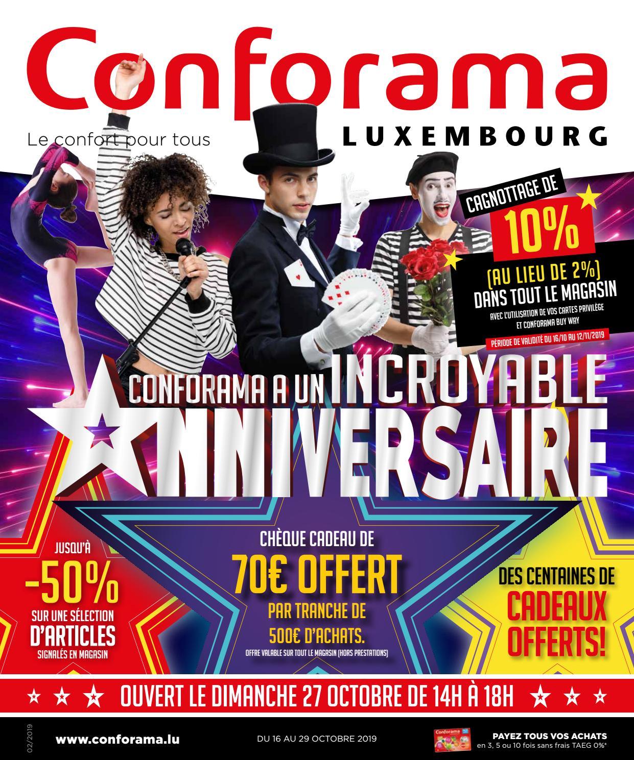 Doc02 Conforama à Un Incroyable Anniversaire By Conforama