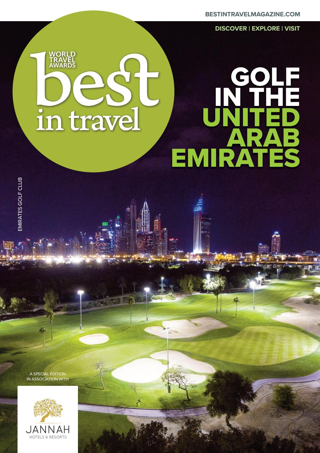 BEST IN TRAVEL — GOLF IN THE UAE by World Luxury Media - issuu