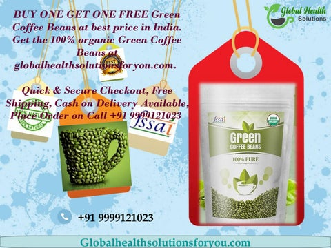 Buy Organic Green Coffee Beans Online In India By Global Health