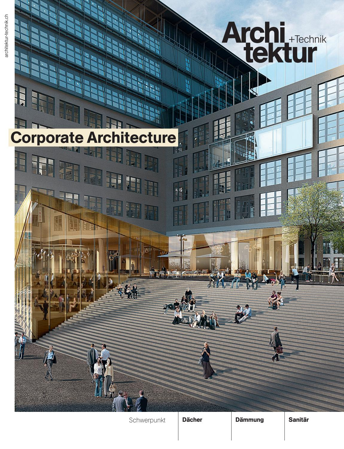 Architektur+Technik 10 2019 by BL Verlag AG issuu
