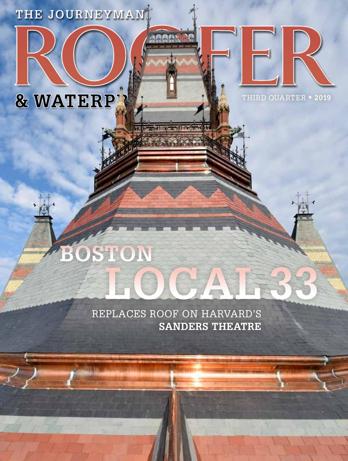 The Journeyman Roofer Waterproofer 3rd Qtr 2019 By Roofersunion Issuu